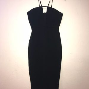Urban Outfitters Formal Black Bodycon Dress